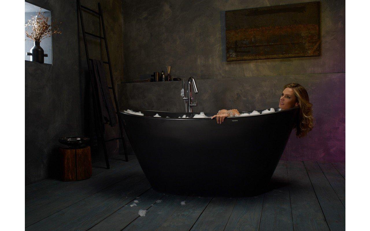Purescape 748M Black Freestanding Stone Bathtub web (4)