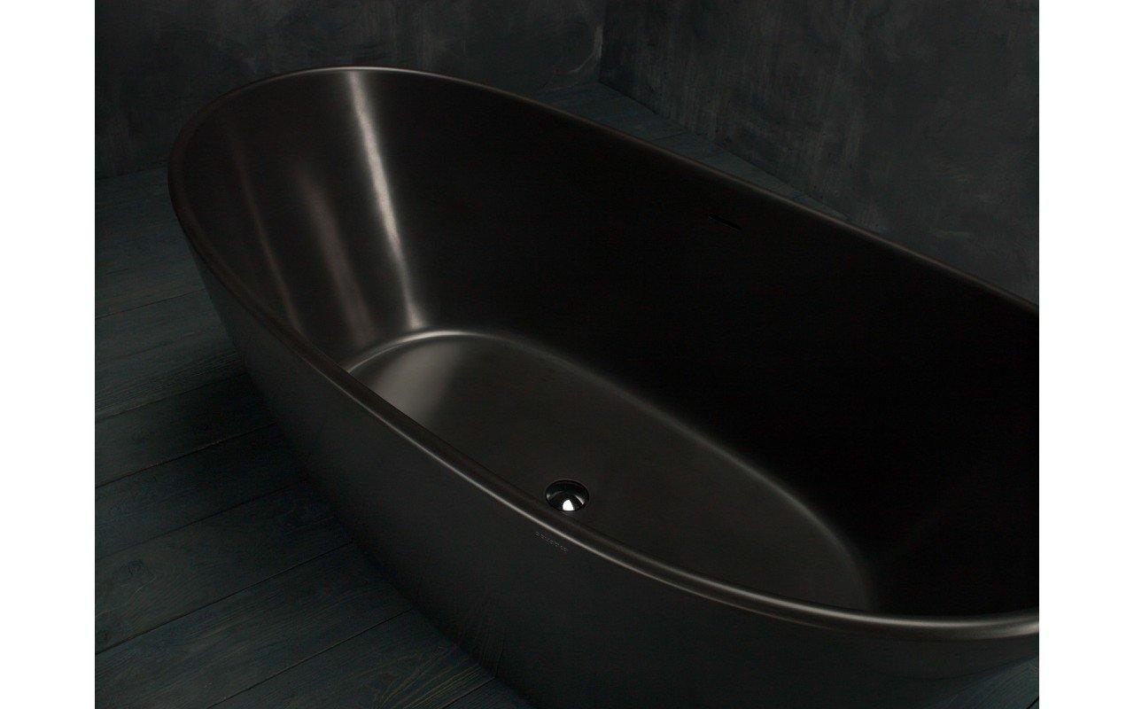 Purescape 748M Black Freestanding Stone Bathtub web (8)