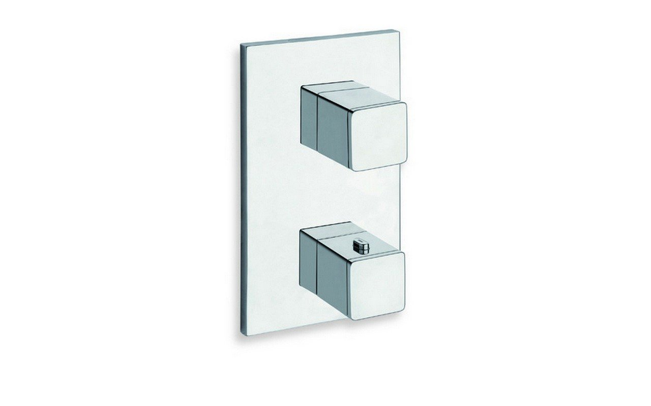 SQ-751 High Throughput Thermostatic Valve with Built-In Diverter and 1 Outlet picture № 0