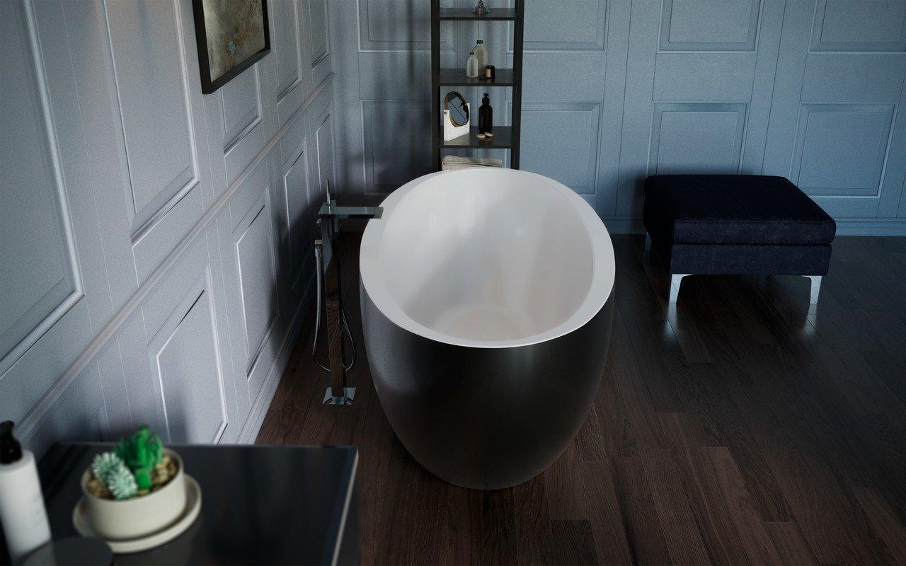 Sensuality mini f black wht freestanding stone bathtub by Aquatica 06 (web)