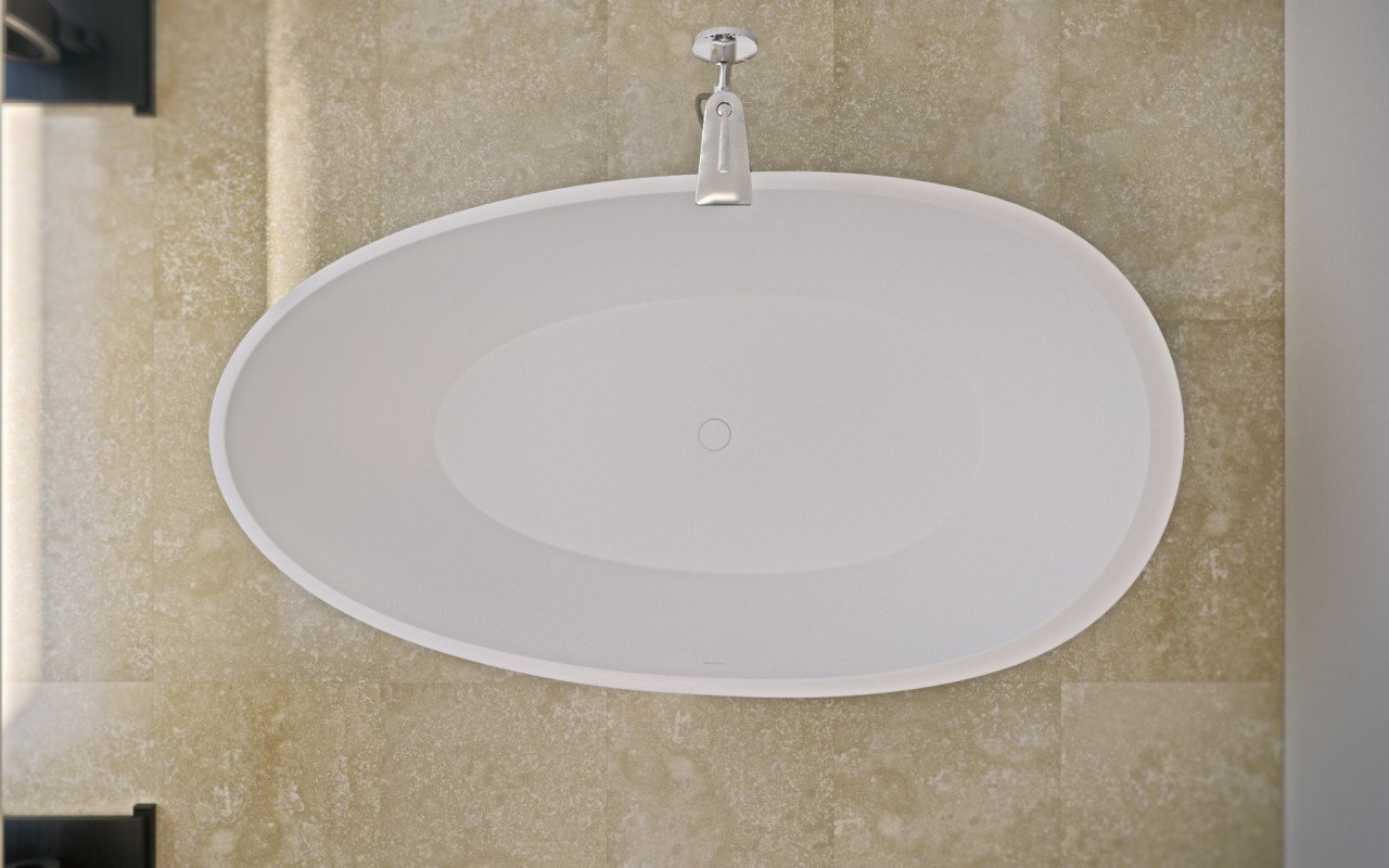 Spoon 2 Freestanding Solid Surface Bathtub (4)