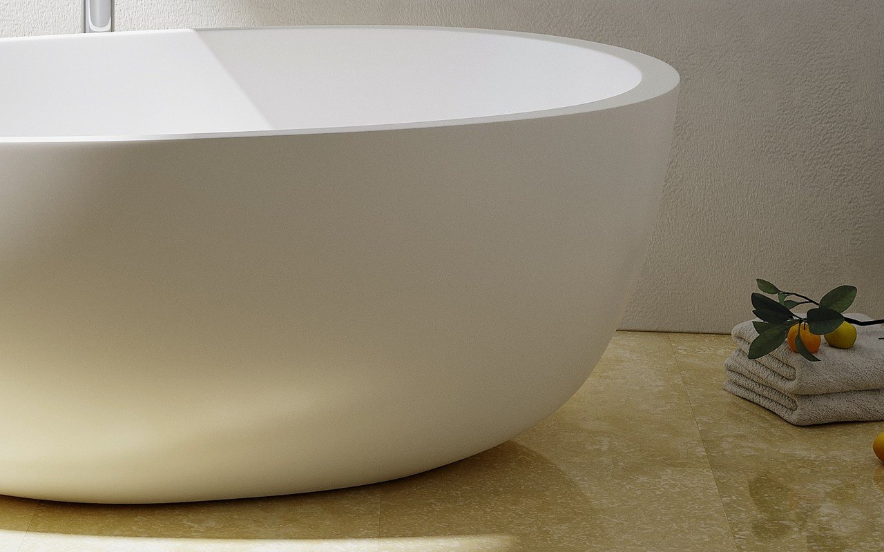 Spoon 2 Freestanding Solid Surface Bathtub by Aquatica 07 (web)