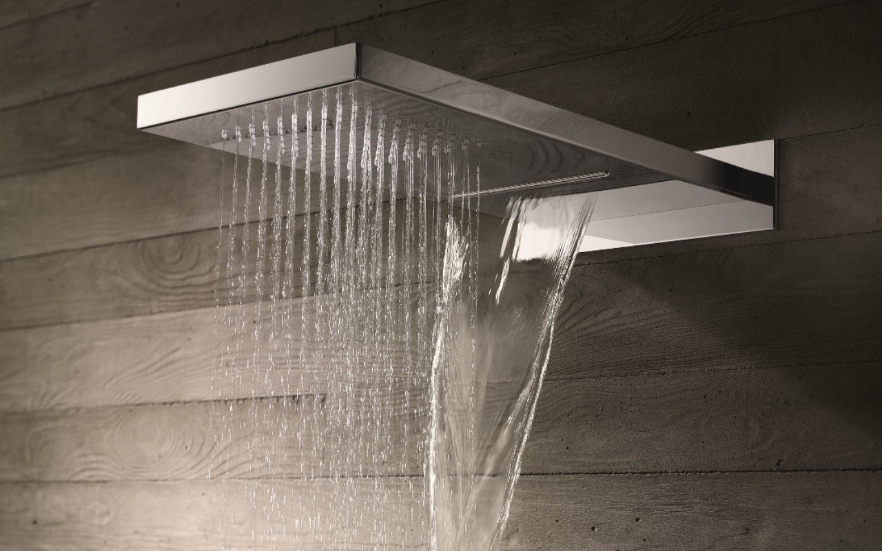 Spring RC-550/320-A Wall-Mounted Shower Head in Chrome picture № 0