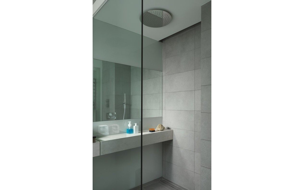 Spring RD-400 Top-Mounted Shower Head in Chrome picture № 0
