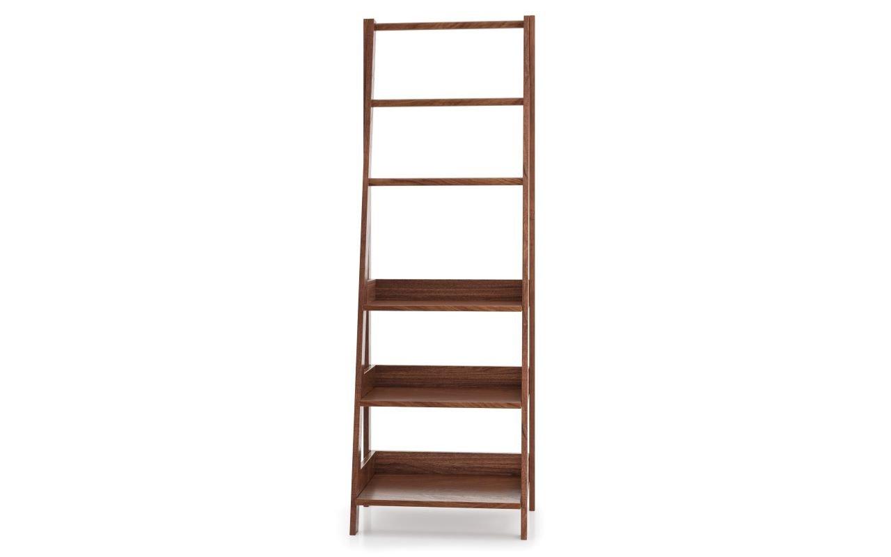 "Aquatica Universal 70.75"" Waterproof American Walnut Wood Bathroom Ladder Shelf picture № 0"