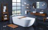 Aquatica Universal 70.75 Waterproof Iroko Wood Bathroom Ladder Shelf 03 (web)