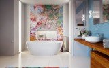 Gloria Wht Freestanding Acrylic Bathtub 8 web