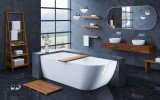 Universal Waterproof Iroko Wood Bathtub Tray 03 (web)