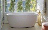 mandy moore bathroom renovation Aquatica Sensuality Wht Freestanding Solid Surface Bathtub icon 215x134 (web)