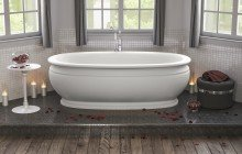 Olympian Roman Freestanding Solid Surface Bathtub web (2)