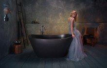 Purescape 748M Black Freestanding Stone Bathtub web (6)