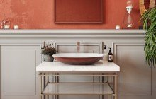 Small Square Vessel Sink picture № 3