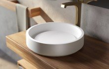 Aquatica Solace A Wht Round Stone Bathroom Vessel Sink with Decorative Drain Cover 01 (web)
