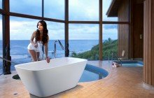 Contemporary Baths in UK luxury baths with Modern Bathtubs Design