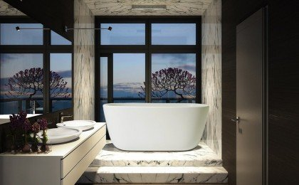 LULLABY (PS602M) BY AQUATICA FREESTANDING STONE BATHTUB (1) (1)
