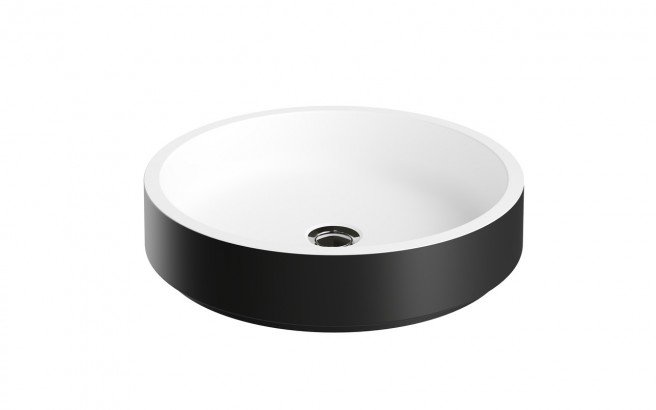 Aquatica Solace A Blck Wht Round Stone Bathroom Vessel Sink (web)