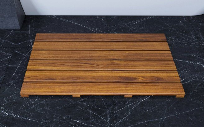 Aquatica Universal 33.5 Waterproof Iroko Wood Bath Shower Floor Mat 01 (web)