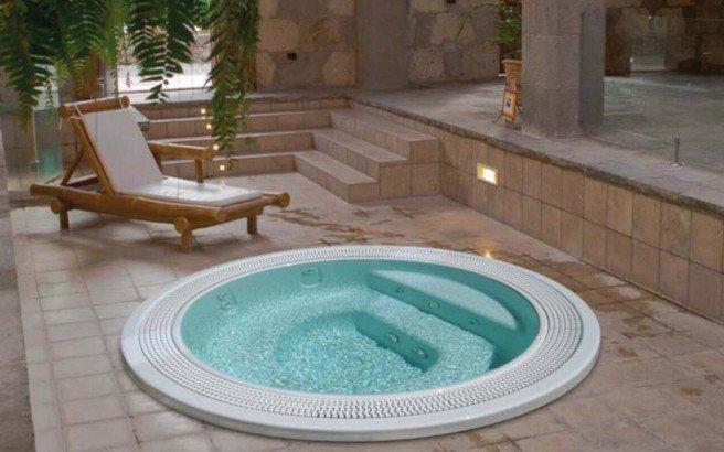 Sunrise basic hot tub 01