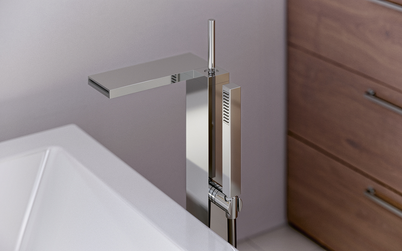Hand Held Shower Attachment For Tub