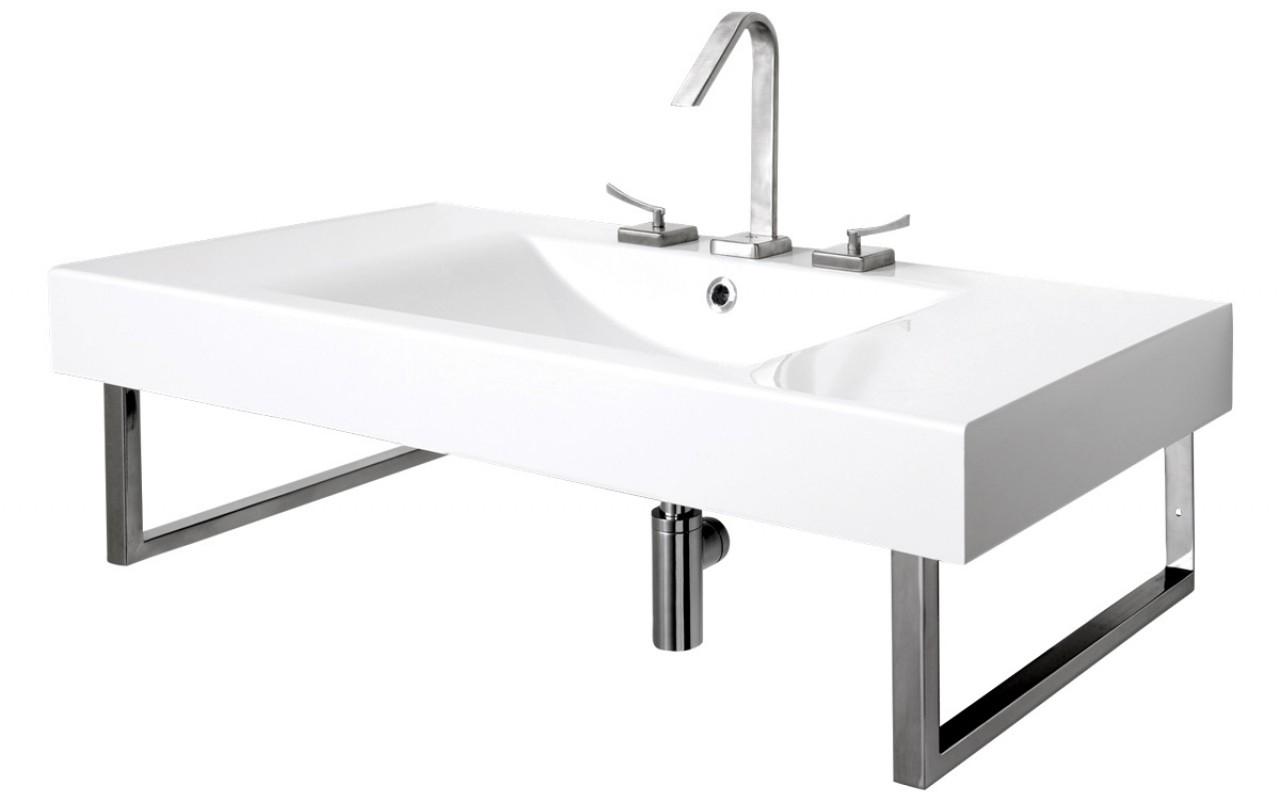 Aquatica Bravado B Wht EcoMarmor Sink new