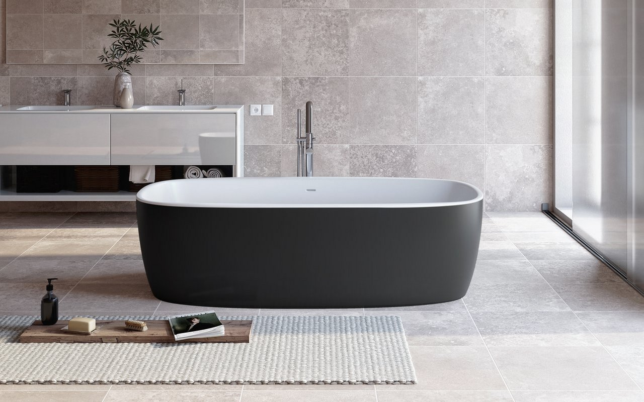 Aquatica Coletta Blck Wht Freestanding Solid Surface Bathtub 01 (web)