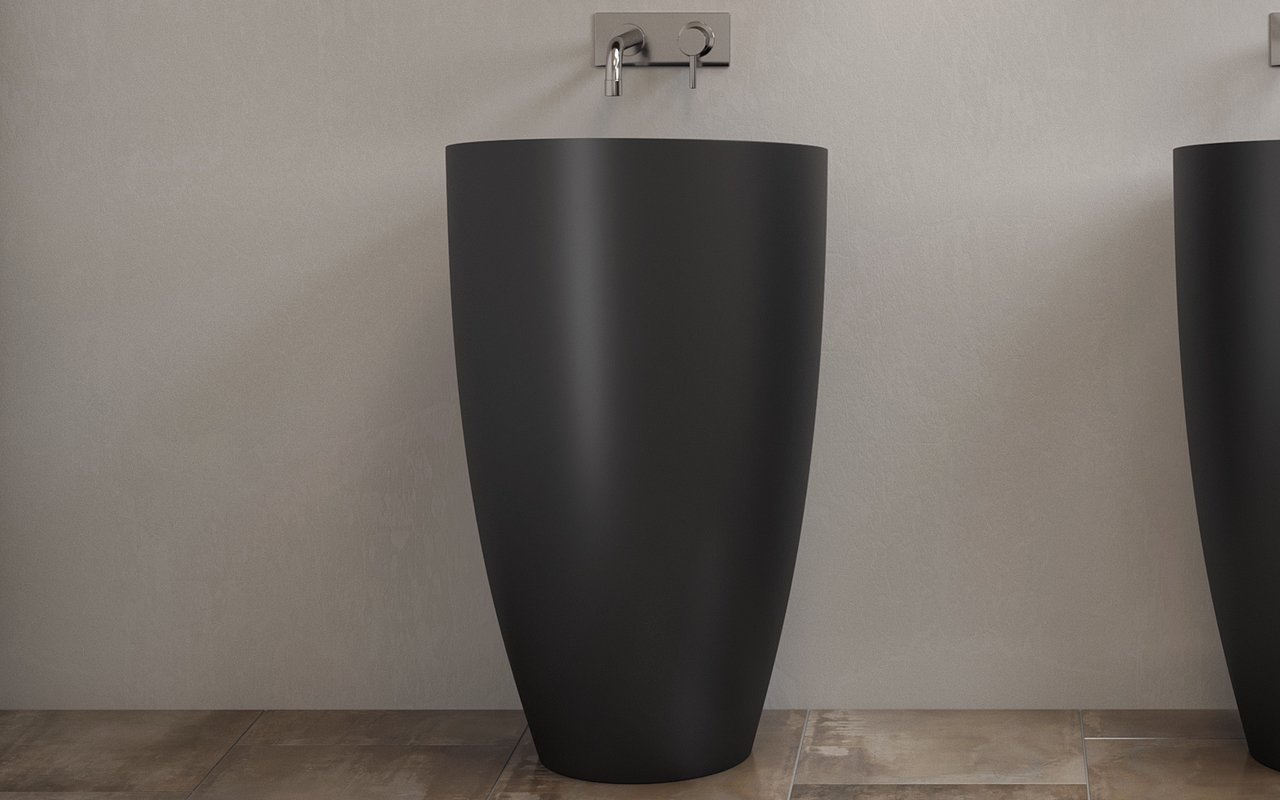 Aquatica Dante Black Freestanding Solid Surface Lavatory 02 (web)