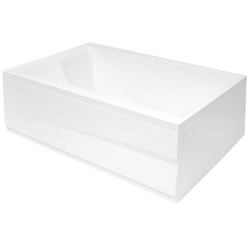 Aquatica Pool Duetto drop in acrylic bathtub 1
