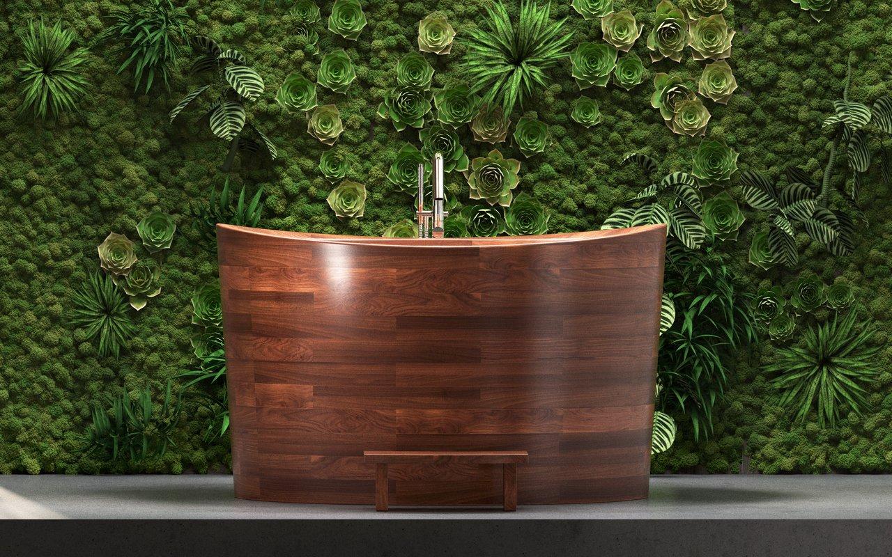 Aquatica True Ofuro Duo Wooden Freestanding Japanese Soaking Bathtub 07 1 (web)