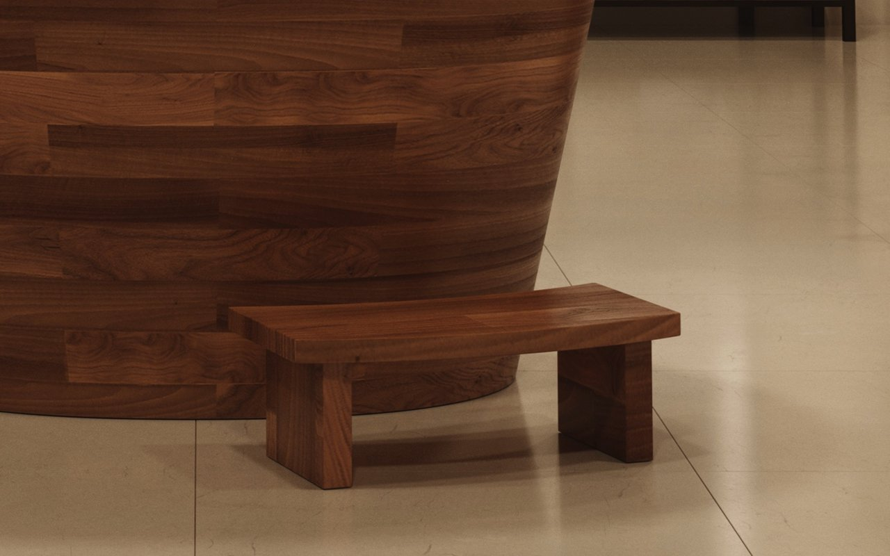 Aquatica TrueOfuro American Walnut Freestanding Wood Bathtub 10 (web)