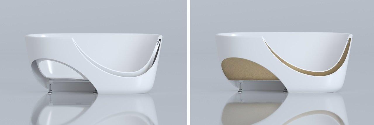Aquatica bathtub without with Foam Filling Option (web)