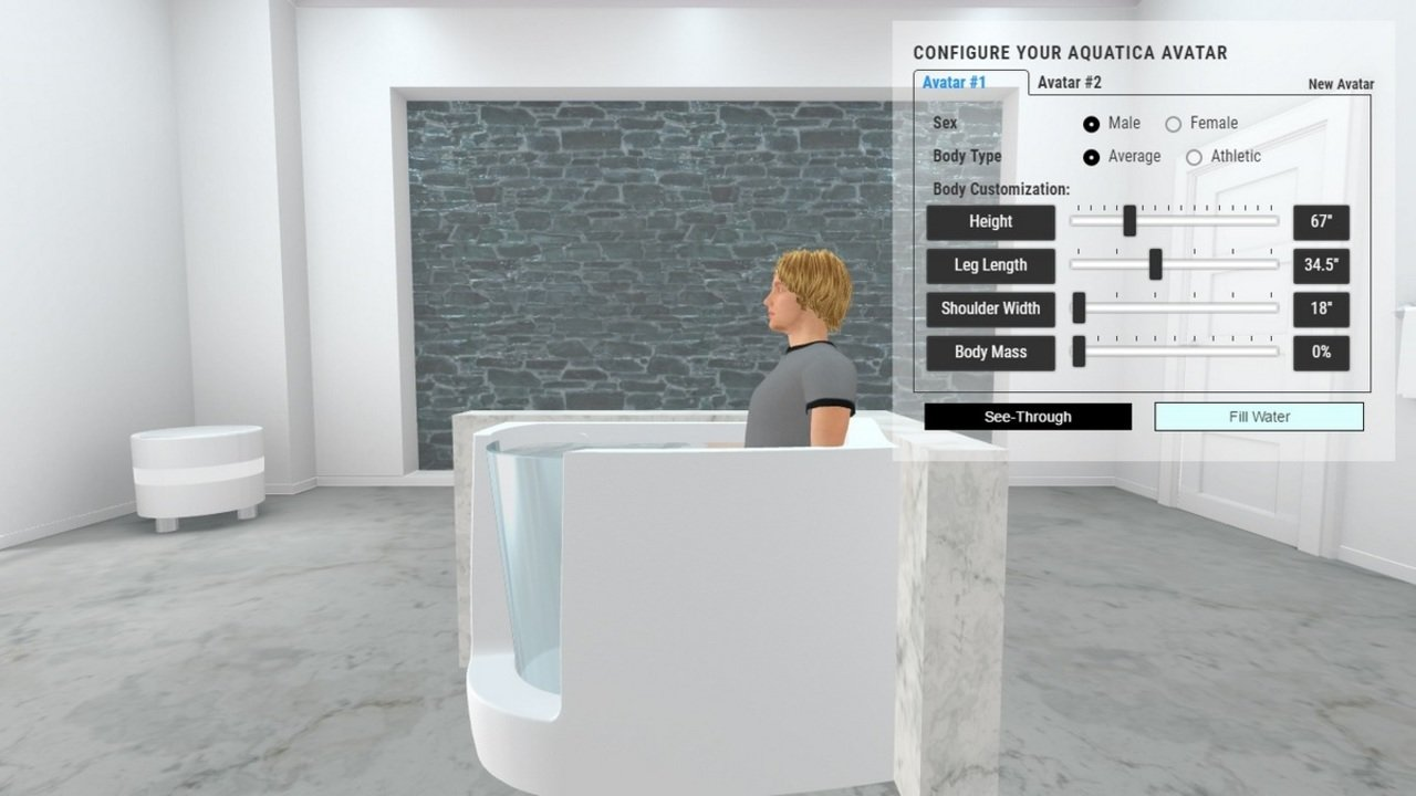 Baby boomer l corner acrylic walk in bathtub
