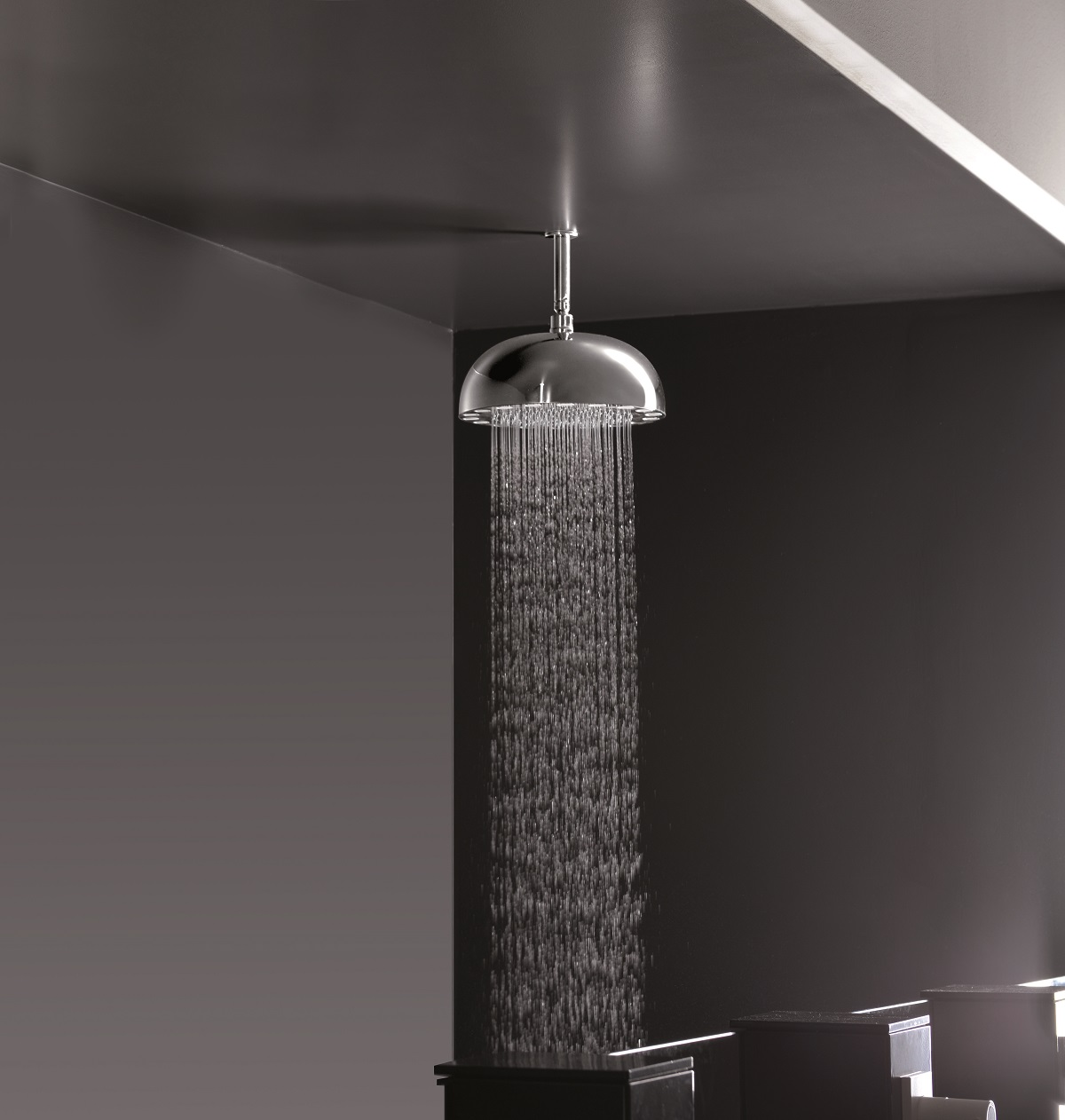 Dynamo Dynamic LED Hydropowered Round Shower Head Chrome 4 web(main)