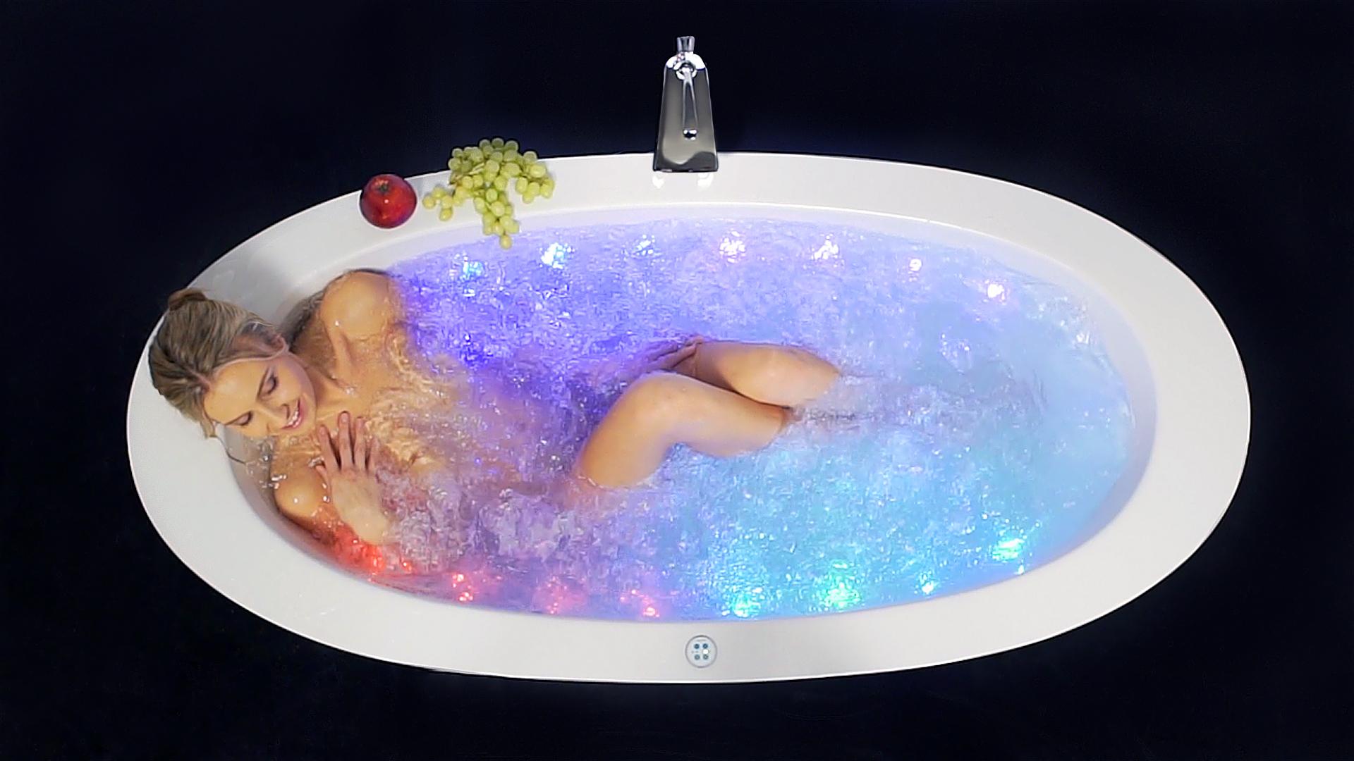 Purescape 174B Wht Relax Air Massage Bathtub DSC2804 Still 02 big