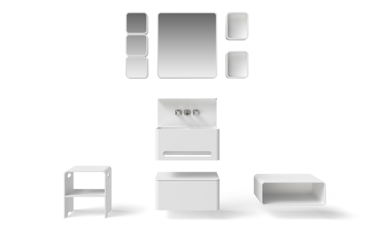 Sola Solid Surface Bathroom Furniture Set (web)