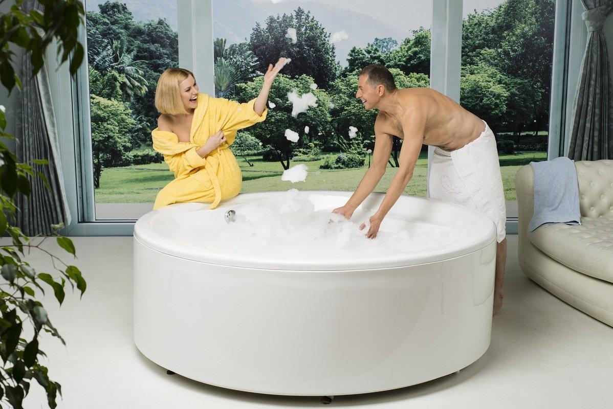 Clean a bathtub naturally