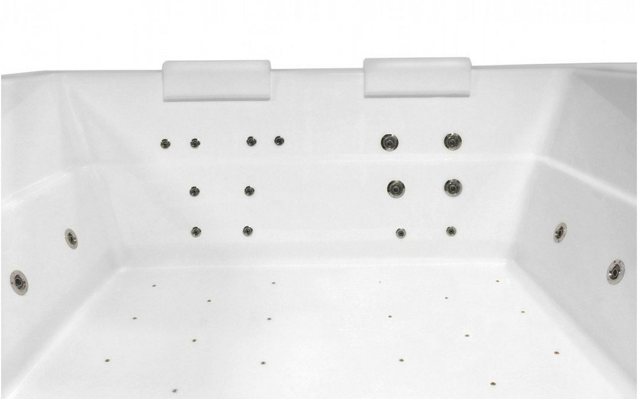Lacus Wht Spa Drop In Jetted Bathtub 230V 50 60Hz USA International 18 1