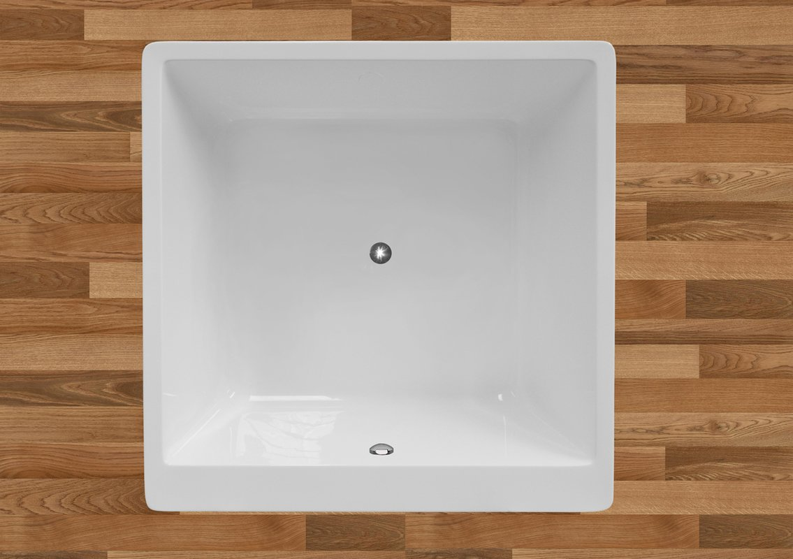 Superieur The PureScape 324 Freestanding Acrylic Bathtub
