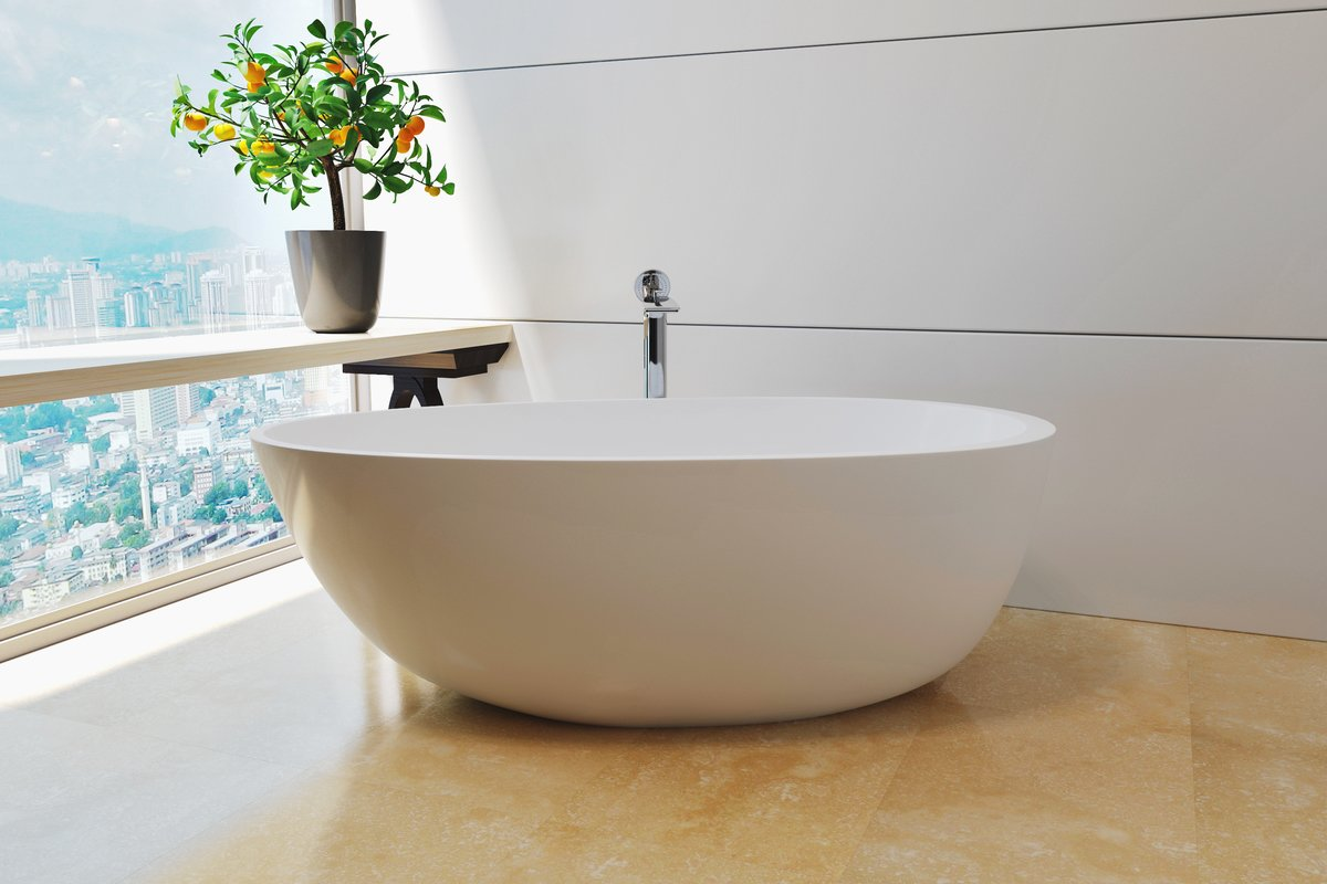 Contemporary baths in uk luxury baths with modern for Best freestanding tub material