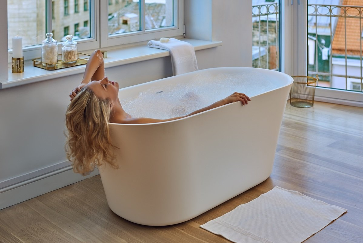 tulip freestanding bathtub